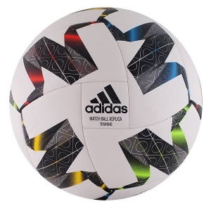Мяч для футбола Adidas UEFA NL TRN White/Black FS0204