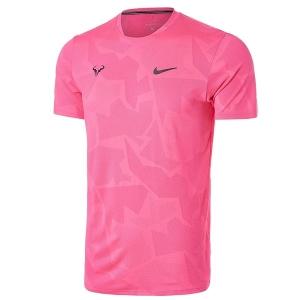Футболка Nike T-shirt M Rafa Court AeroReact Pink CU7916-679