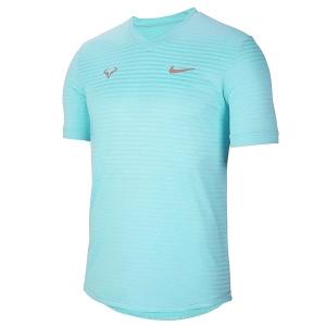 Футболка Nike T-shirt M Rafa Challenger Cyan CI9148-445