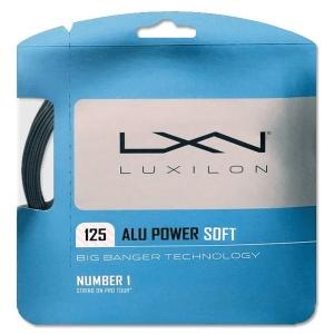 Струна для тенниса Luxilon 12m ALU Power Soft Gray WRZ990101
