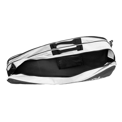 Чехол 4-6 ракеток Harrow Pro Racquet Bag Black/Silver 1480210
