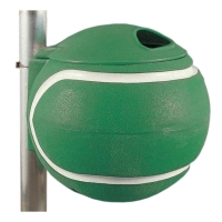 Корзина для мусора Tennis Ball 41223 Universal Green