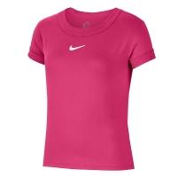 Футболка Nike T-shirt JG Court Dri-FIT Pink CQ5386-616