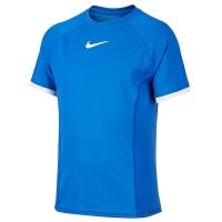 Футболка Nike T-shirt JG Court Dri-FIT Dark Blue CD6131-480