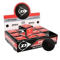 Мячи для сквоша Dunlop 1-Red Progress 1b Box x12