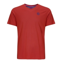 Футболка Bidi Badu T-shirt JB Evin Tech Round-Neck Red/Blue B369003203