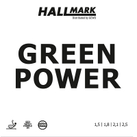 Накладка Hallmark Green Power