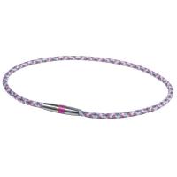Ожерелье спортивное Phiten Rakuwa X50 High-End III TG4754 White/Pink