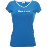 Футболка Babolat T-shirt W Training Basic 2014 Cyan
