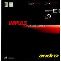 Накладка для настольного тенниса ANDRO Impuls Powersponge