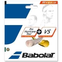 Струна для тенниса Babolat 12m Pro Hurricane Tour 125/17 + Xcel 130/16