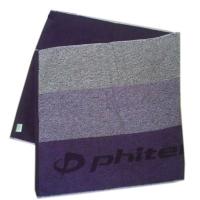 Полотенце Phiten Bath Towel 60x120 TU530 Purple