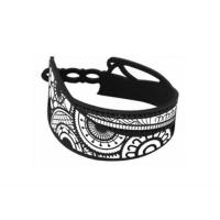 Браслет спортивный Phiten S-Tattoo TG6501 Black/White
