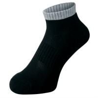 Носки спортивные Phiten Socks Casual X10 Short Black/Grey