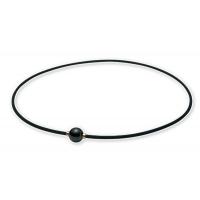 Ожерелье спортивное Phiten Rakuwa X100 Mirror Ball TG6400 Black/Gold