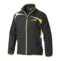 Ветровка Stiga Jacket M Challenge Black/Yellow