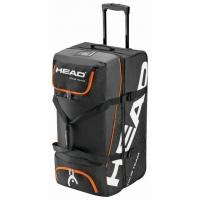 Сумка дорожная на колесах Head Tour Team Travelbag Black/Orange