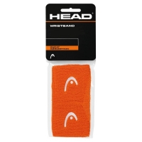 Напульсник Head Wristband 2.5 Short 2016 x2 Orange