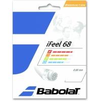 Струна для бадминтона Babolat 10m I Feel 68 White