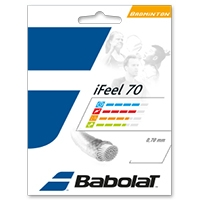 Струна для бадминтона Babolat 10m I Feel 70 Black