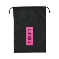 Сумка для обуви Butterfly Shoebag BL Black/Pink