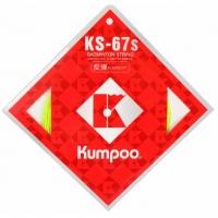 Струна для бадминтона Kumpoo 200m KS-67S Coils 68 White