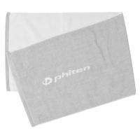 Полотенце Phiten Sports Towel 34x100 TU521100 Grey