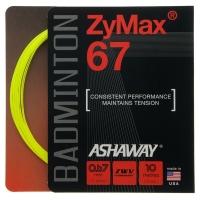 Струна для бадминтона Ashaway 10m ZyMax 67 67 Prepacked Yellow