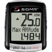 Велокомпьютер Sigma BC 14.12 STS ALTI 04160
