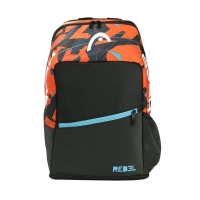 Рюкзак Head Rebel Backpack Black/Orange