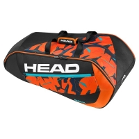 Чехол 7-9 ракеток Head Radical 9R Supercombi 2016 Black/Orange