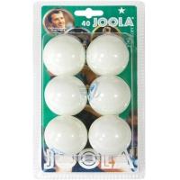 Мячи для настольного тенниса Joola 1* Rossi x6 44310 White