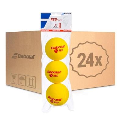 Мячи для тенниса Babolat Red Foam 3b Box x72 501037