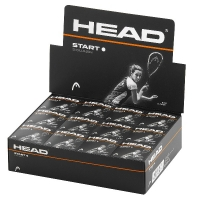Мячи для сквоша Head Start White Dot 1b x12 287346