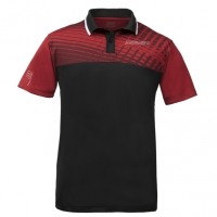 Поло Donic Polo Shirt M Makro Black/Red