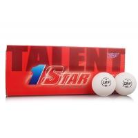 Мячи для настольного тенниса Friendship 729 1* Talent Seamless 40+ Plastic x10 White