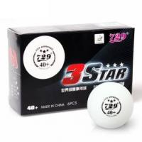 Мячи для настольного тенниса Friendship 729 3* Seamless ITTF 40+ Plastic x6 White