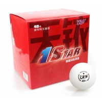 Мячи для настольного тенниса Friendship 729 1* Training 40+ Plastic x100 White