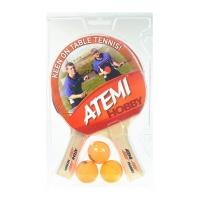 Набор для настольного тенниса ATEMI Hobby (2r, 3b)