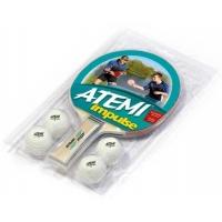 Набор для настольного тенниса ATEMI Impulse (1r, 4b)