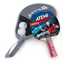 Набор для настольного тенниса ATEMI Sniper APS (1r, 2b, 1c)