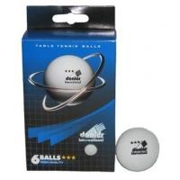 Мячи для настольного тенниса Donier 3* x6 White