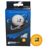 Мячи для настольного тенниса Donier 3* x6 Orange