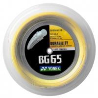 Струна для бадминтона Yonex 200m BG-65 Yellow
