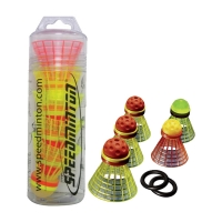 Воланы для кроссминтона Speedminton SpeederTube Mixpack x5 400206