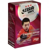 Мячи для настольного тенниса DHS 3* ITTF 40+ Plastic x6 CF40A White