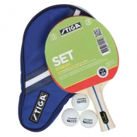 Набор для настольного тенниса Stiga Stream WRB (1r, 3b, 1case)