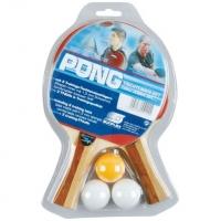 Набор для настольного тенниса Sunflex Pong 2 (2r, 3b)