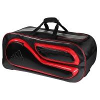 Сумка дорожная на колесах Adidas Pro Line Team Wheel Bag Black/Red