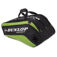 Чехол 7-9 ракеток Dunlop Bio Tour 10rtherm Black/Green